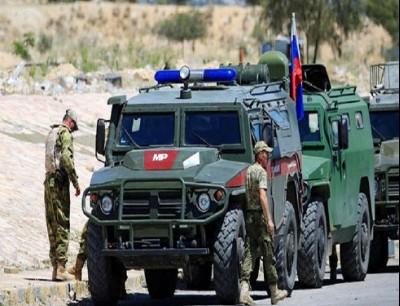 وحدات من الشرطة العسكرية الروسية في جنوب سوريا