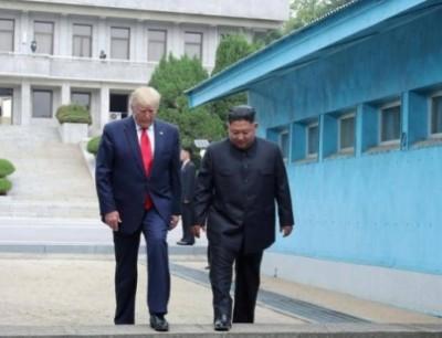 ترامب و كيم جونغ