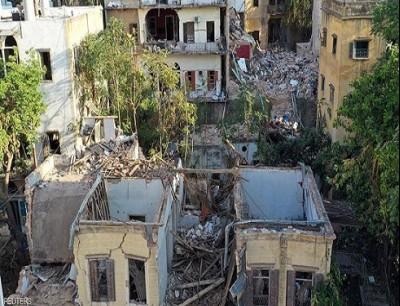 الانفجار دمر أجزاء كبيرة من العاصمة اللبنانية