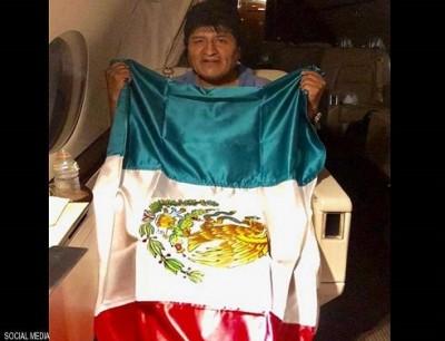 الرئيس البوليفي المستقيل إيفو موراليس
