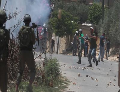 مواجهات مع الجيش الإسرائيلي