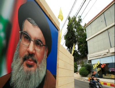 صورة زعيم حزب الله (أرشيفية- فرانس برس)