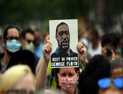 احتجاجات في امريكا بعد وفاة جورج