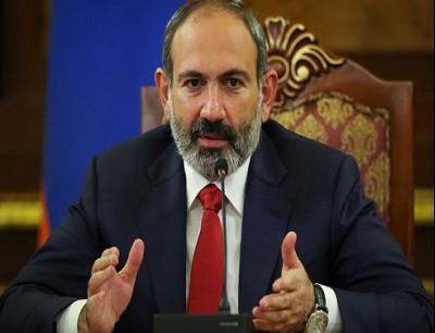 رئيس وزراء أرمينيا نيكول باشينيان