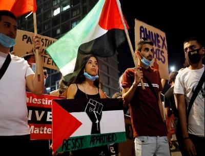 احتجاجات في تل ابيب