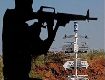 عنصر من الجيش الإسرائيلي في الجولان