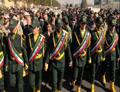 الحرس الثوري الإيراني (أرشيفية)