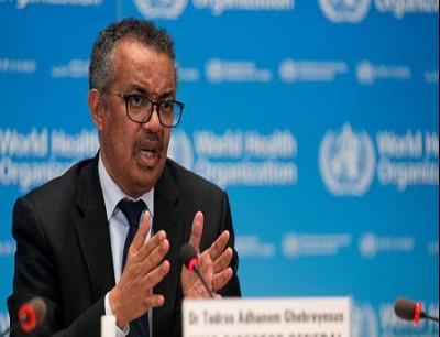 المدير العام لمنظمة الصحة العالمية تيدروس غيبريسوس