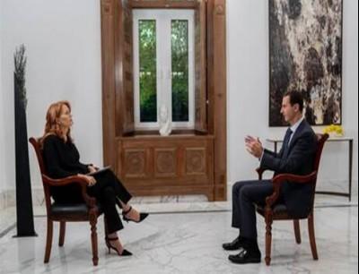 مقابلة مع الأسد لم تبث