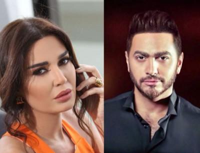 أهواك يجمع بين تامر حسني وسيرين عبد النور