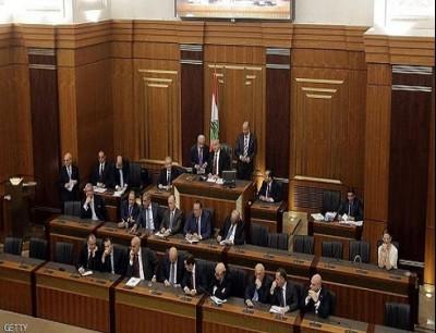 جانب من جلسة سابقة للبرلمان اللبناني