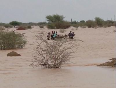الفيضانات تسببت في تدمير أعداد كبيرة من المنازل