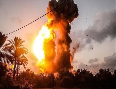 حريق في اسرائيل