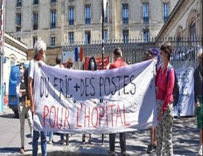 عاملون بقطاع الصحة في فرنسا: نريد أسرة وأموالا لا أوسمة (أرشيف)