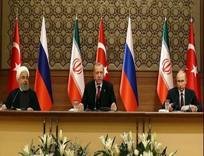 قمة بوتين وأردوغان وروحاني