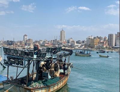 ميناء غزة، أرشيف