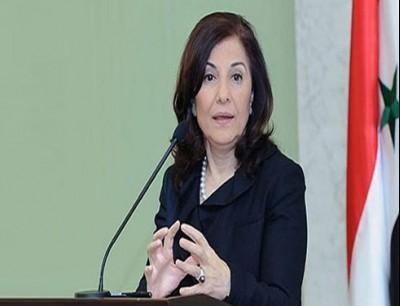 المستشارة السياسية والإعلامية للرئاسة السورية بثينة شعبان