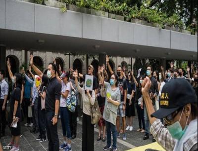 الاحتجاجات في هونغ كونغ بدأت في يونيو الماضي ولا تزال مستمرة
