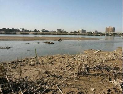 تدفق نهري دجلة والفرات انخفض هذا العام بنسبة 50 بالمئة