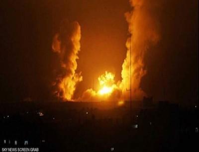 أرشيفية لهجمات استهدفت دمشق
