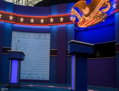 منصة المناظرة الرئاسية الأولى