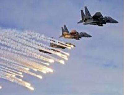 غارة جوية إسرائيلية على سوريا