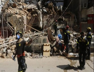 شهد لبنان، مساء الثلاثاء، انفجارا مروعا هز مرفأ بيروت