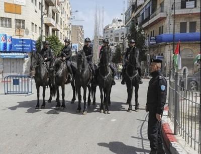 """قوات الأمن الفلسطينية انسحبت من بلدات """"بدو"""" و""""قطنة"""" و""""بيت اكسا"""""""