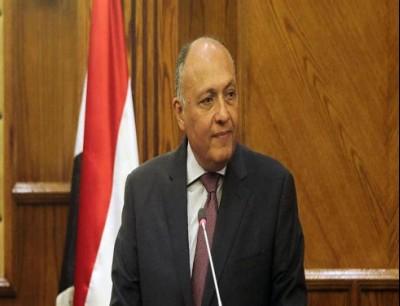 وزير الخارجية المصري سامح شكري.