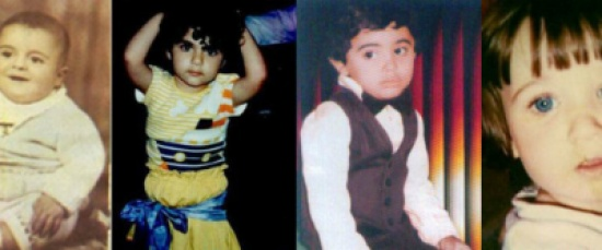 بالصور: شاهد نجومك المفضلين عندما كانوا أطفالاً
