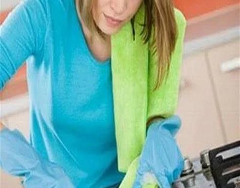 بـ الخل والمعجون.. طريقة سحرية لتنظيف البوتجاز
