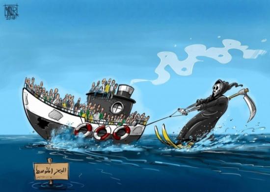 الهجرة غير النظامية في البحر المتوسط