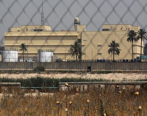 استهداف السفارة الأميركية بالمنطقة الخضراء ببغداد