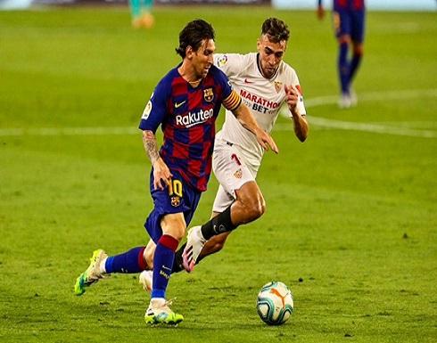 """برشلونة يتعثر بالأندلس ويهدي الريال فرصة تصدر """"الليغا"""""""