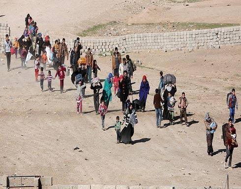 200 ألف مدني فروا إلى شمالي إدلب جراء هجمات النظام السوري وتنظيم الدولة