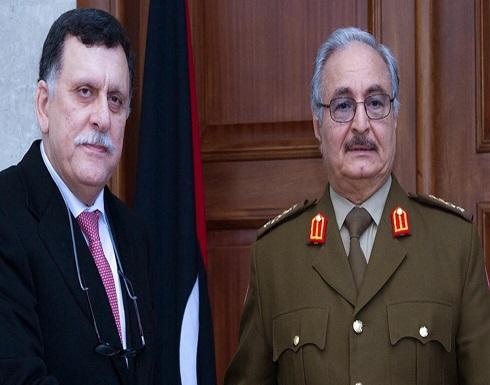 ألمانيا لا تدرج اسمي حفتر والسراج في القائمة الأساسية للمشاركين في مؤتمر برلين حول ليبيا