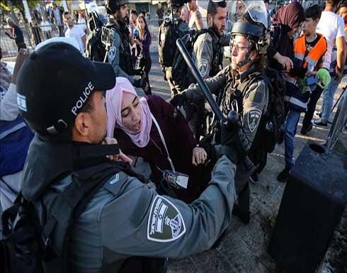 الضفة.. الشرطة الإسرائيلية تعتقل فلسطينية عند حاجز قلنديا