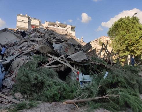 فيديوهات  وصور جديدة للمناطق المنكوبة من زلزال إزمير اليوم
