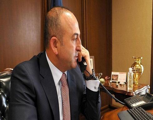 تشاووش أوغلو يبحث مع كوبيش مستقبل ليبيا