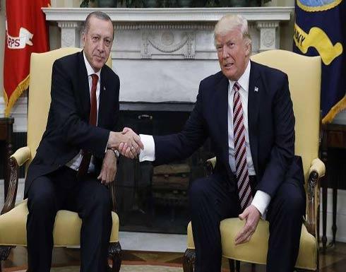 أردوغان وترامب يبحثان في اتصال هاتفي التطورات الأخيرة في سوريا