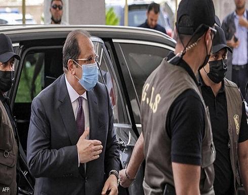 رئيس المخابرات المصرية يتفقد مواقع مشروعات إعمار غزة