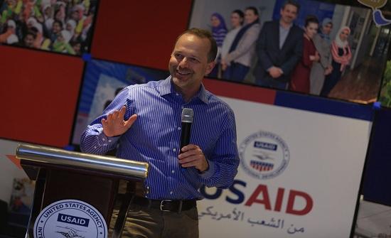 بارنهارت : الشراكة الأميركية الأردنية أقوى من أي وقت مضى