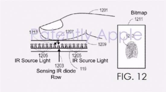 أبل تسجل براءة اختراع لإزالة زر البصمة وتفتح الباب أمام شاشة أكبر