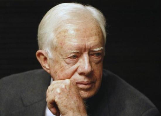 كارتر يدعو لاعتراف أميركي عاجل بدولة فلسطين