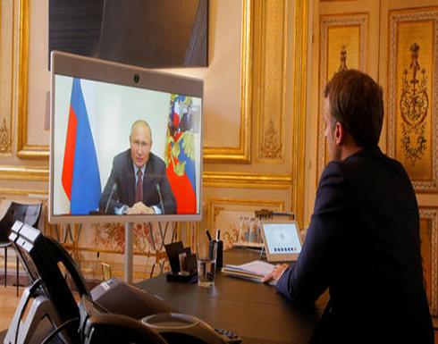 الكرملين: بوتين وماكرون يدعوان لوقف إطلاق النار في ليبيا بشكل عاجل