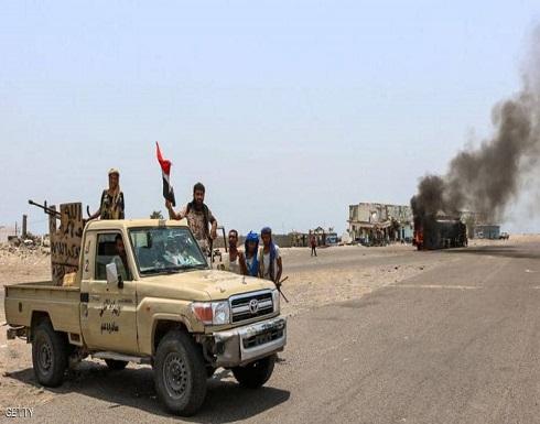 """المقاومة اليمنية والحزام الأمني تحرران """"الفاخر"""" من الحوثي"""