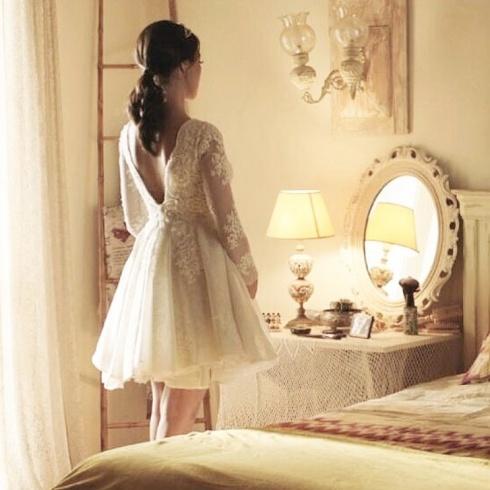 بالصور- نكشف لكم فستان زفاف نادين نجيم في مسلسل الهيبة... من أي علامة؟؟