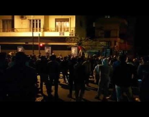 بالفيديو : المئات يتظاهرون وسط بيروت احتجاجا على السياسات المصرفية للبلاد