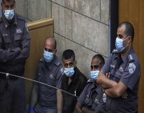 مشاهد تعرض للمرة الأولى للأسرى الهاربين من سجن جلبوع الإسرائيلي .. بالفيديو