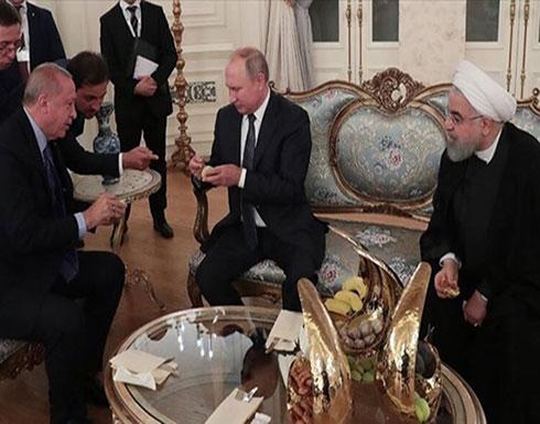 """ردا على """"البوظة"""".. أردوغان يقدم للرئيس بوتين """"التين"""""""